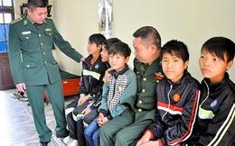 Giải cứu 9 cháu bé bị dụ dỗ sang Trung Quốc