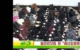 Lấy trộm gần 160 đôi giày nữ vì thích ngửi... mùi