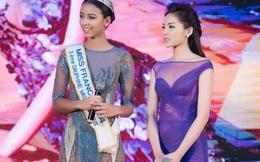 Kỳ Duyên mặc gợi cảm, tự tin đọ sắc cùng Hoa hậu Pháp