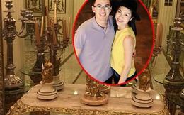"""""""Lột trần"""" bí mật bên trong biệt thự dát vàng trăm tỷ nhà Tăng Thanh Hà"""