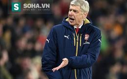 """Bị """"người nhà"""" chơi ác, Wenger vẫn bình tĩnh đáp trả"""