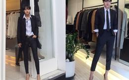 Cô gái Hàn Quốc khiến giới trẻ Việt phát cuồng vì phong cách tomboy