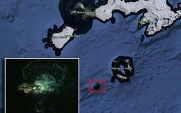 """Google Earth phát hiện """"thủy quái"""" dài 120m gần Nam Cực?"""