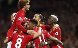 Pogba ra mắt ấn tượng, Ibrahimovic nổ súng, Man United thắng dễ