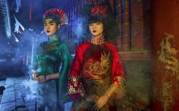 Siêu mẫu Hà Phương, Hạ Vy đầy ma mị với hình ảnh cô đồng