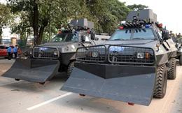 Xe bọc thép đặc chủng rất lạ của Công an Việt Nam: Hạ gục nhanh, tiêu diệt gọn khủng bố