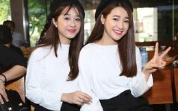 Nhã Phương rủ rê em gái xinh đẹp diện đồ đôi đi sự kiện