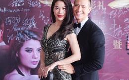 Kim Lý ôm eo Trương Ngọc Ánh khi xuất hiện ở Trung Quốc