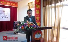 Con ông Nguyễn Bá Thanh bật khóc trong ngày giới thiệu sách về cha