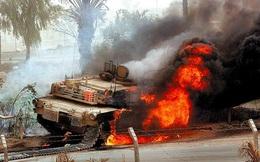 [VIDEO] Xe tăng M1 Abrams bị tên lửa Kornet bắn cháy