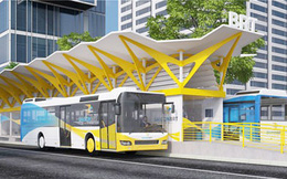 Ngày 15-12, Hà Nội thí điểm chạy tuyến buýt nhanh BRT
