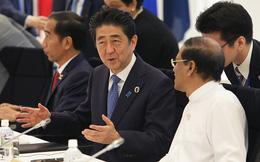 """Thủ tướng Shinzo Abe """"tấn công"""" chiến lược trọng yếu của ông Tập"""