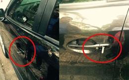"""Thủ đoạn mới """"khoắng sạch"""" đồ trong xe, ai đi Mazda cũng cần biết"""