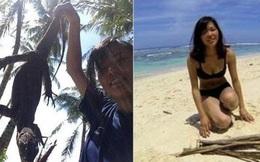 Nữ sinh Nhật một mình sống trên đảo hoang ở Indonesia