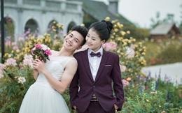Ảnh cưới độc đáo: Cô dâu chú rể hoán đổi giới tính