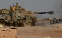 24h qua ảnh: Xe tăng Thổ Nhĩ Kỳ nã pháo như mưa vào lính IS ở Syria
