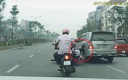 """Người lái xe Innova tông cô gái ngã sấp mặt: """"Không phải tôi cố tình bỏ chạy"""""""