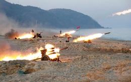 24h qua ảnh: Hệ thống tên lửa đa nòng Triều Tiên khai hỏa như mưa