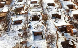 Ngôi làng kỳ lạ nhất Trung Quốc: Toàn bộ người dân đều sống dưới lòng đất