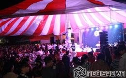 Quang cảnh rạp cưới đông nghẹt người, nhộn nhịp như hội chợ của Hiệp Gà