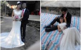 """Hậu trường chụp ảnh cưới """"xấu chưa từng thấy"""" của cặp đôi Việt"""