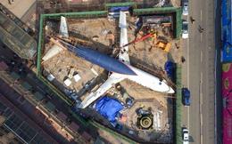 24h qua ảnh: Máy bay Boeing 737 biến thành nhà hàng ở Trung Quốc