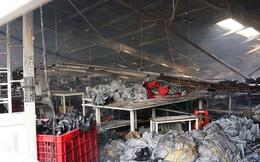 Công ty may rộng hàng ngàn mét vuông chìm trong lửa