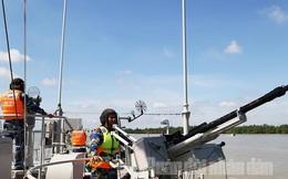 Huấn luyện tàu mặt nước tác chiến trên biển