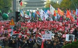 Hàng chục nghìn người Hàn Quốc biểu tình phản đối Tổng thống