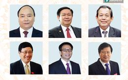 Chân dung, phát ngôn ấn tượng của Thủ tướng, 5 Phó thủ tướng và 21 Bộ trưởng