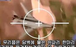 Triều Tiên tung video bắn hạ máy bay chiến đấu Mỹ