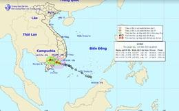 Chiều nay, áp thấp nhiệt đới đổ bộ vào bờ, Nam Bộ xảy ra mưa lớn