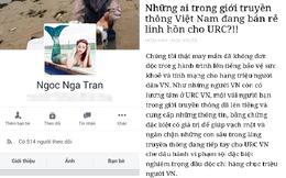 Facebook Ngoc Nga Tran thừa nhận đưa tin sai sự thật, xin lỗi một số nhà báo, tờ báo về vụ Rồng đỏ, C2