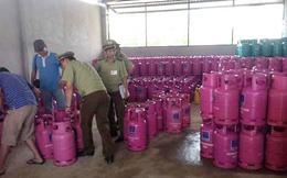 30% bình gas trong mỗi nhà dân là gas sang chiết lậu