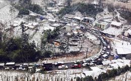 Rét kỷ lục: Sapa, Tam Đảo đồng loạt cấm ô tô lên ngắm tuyết?