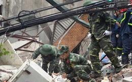 Vụ sập nhà 4 tầng ở Cửa Bắc: Hỗ trợ khẩn cấp cho các nạn nhân