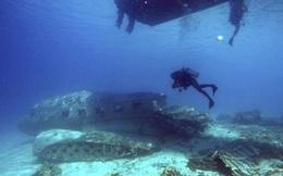 Ly kỳ cuộc thám hiểm xác tàu đắm dưới đáy biển đảo Marshall