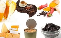 12 thực phẩm và đồ uống khiến bàng quang quá tải