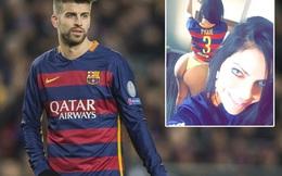 """Chê Messi lùn, mĩ nhân siêu vòng 3 quay sang """"tấn công"""" Pique"""