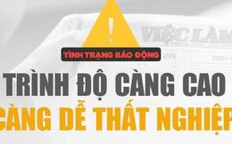 Nghịch lý tại Việt Nam: Bằng cấp và trình độ càng cao, càng dễ thất nghiệp