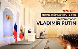 Thông điệp Liên bang 2016 của Putin: Quan hệ Nga-Trung Quốc là hình mẫu của trật tự thế giới