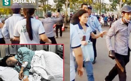 Nỗi đau của cô gái bị chém dã man ngay trước cổng công ty