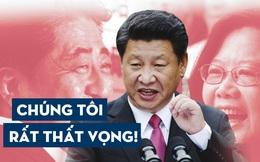 """Nhật Bản đổi tên """"cơ quan ngoại giao"""" ở Đài Loan, Bắc Kinh lôi """"Một Trung Quốc"""" ra đe nẹt"""