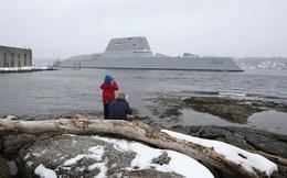 Chiến hạm tỷ đô Mỹ lo bị tàu khác đâm phải vì... quá tàng hình