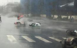 Cảnh báo mưa dông ở nội thành Hà Nội