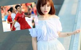 """Hotgirl Tú Linh bất ngờ """"ngả về"""" Công Phượng"""
