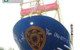 Hạ thủy tàu vỏ thép hơn 18 tỷ đầu tiên ở Đà Nẵng