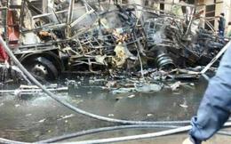 Đánh bom kép ở Syria gây thương vong lớn