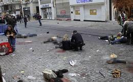 [Video] Khoảnh khắc kẻ đánh bom tự sát nổ tung ở Istanbul