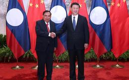 Chủ tịch nước Lào muốn tăng cường hợp tác quân sự với Trung Quốc